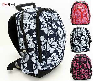Jeep Girls Womens Small College Travel Floral Backpack