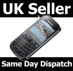 NEW SCREEN PROTECTOR GUARD FOR SAMSUNG CHAT 335 S3350