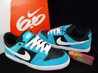 2012 Nike 6.0 Zoom Mogan 2 Turquoise Blue Suede US8~11 Athletic