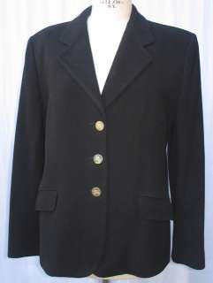 BURBERRY Blazer Negro Lana Chaqueta MUJER T.46 IMPECABLE.pvp.460