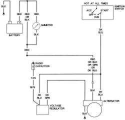 Delco Alternator 3 Wire Plug Wiring Diagram Delco Free