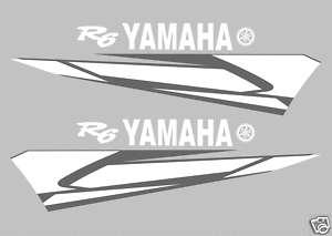 KIT PEGATINAS /KIT DECALS STICKERS / YAMAHA YZR R6 2004