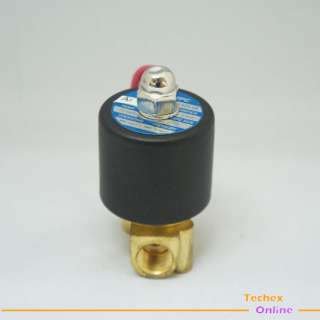 New 1/4 Electric Solenoid Valve 12 volt Air, Water