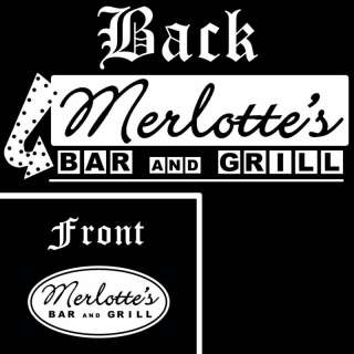 075 Merlottes Bar & Grill True Blood Beer T shirt NEW!