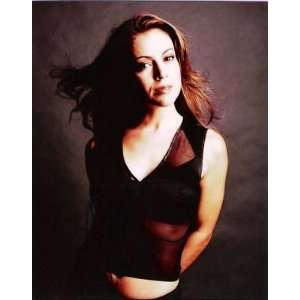 ALYSSA MILANO PRETTY ACTRESS Autograph 8x10 Color Photo