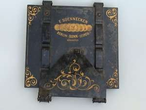 SOENNEKEN GERMAN PORTABLE COPYING MACHINE PRESS 1890