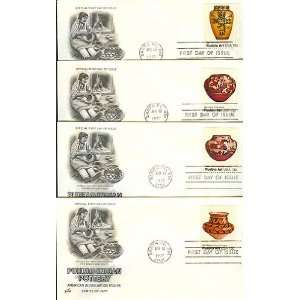 Four First Day Covers Pueblo Pottery Scott #s 1706 09 Everything Else
