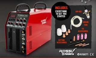 NEW 2012 ROSSI 4 IN 1 AC/DC MULTI FUNCTION TIG/ARC/PLASMA CUTTER