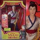 Poupée Barbie Ken Disney Mulan Capitaine Li Shang Guerrier