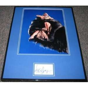 Signed King Photograph   Jessica Lange Kong Framed 16x20