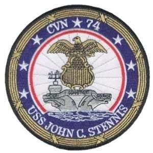 USS John C. Stennis CVN 74 US Navy Aircraft Carrier 5 Embroidered