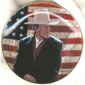 John Wayne Plate Cowboy Legend Everything Else