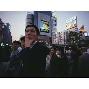 Crowds of Young, Wealthy Japanese Fill the Tokyo Streets