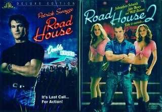 ROADHOUSE 1 & 2: Patrick Swayze + Sam Elliott   NEW 2 DVD 027616151186