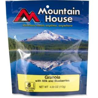 Reviews for Mountain House Granola With Milk and Blueberries   2