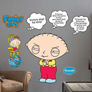 Family Guy Wall Size Decal Sheet by Fathead