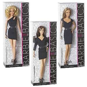 Mattel Barbie Basics Model Collection Doll Wave 2 Case