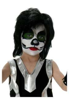 Kids KISS Catman Wig   KISS Band Halloween Costumes Accessories