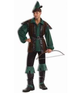 Mens Classic Robin Hood Costume  Mens Renaissance Halloween Costumes