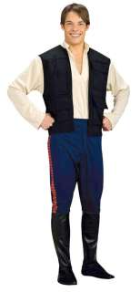 Deluxe Star Wars Adult Han Solo Costume   Star Wars Costumes