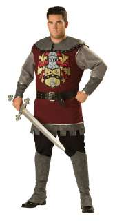 Plus Size Deluxe Noble Knight Costume   Medieval Knight Costumes