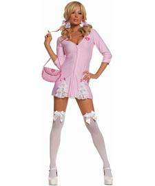 Cute Candy Striper Costume for Adults  Kandi Striper Halloween