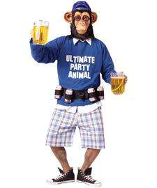 Ultimate Party Animal Costume  Party Ape Halloween Costume