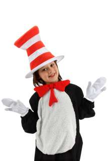 Dr Seuss Cat in the Hat Child Costume Accessory Kit for Halloween