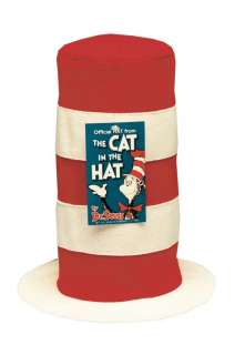 The Cat in the Hat Hat   Exceptional Dr. Seuss character costume