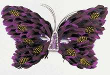 Butterfly Purple Mask