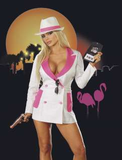 Adult Sexy Vicky Vice Costume   Sexy Detective Costumes   15RL4045