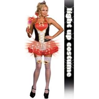 Queen of Heartbreakers (Light Up) Plus Adult Costume   Includes Dress