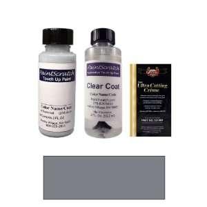 Oz. Lake Silver Metallic Paint Bottle Kit for 2001 Audi TT (LY7W/ 5B