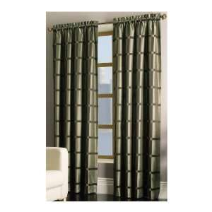 allen + roth 63L Green/Brown Roswell Window Panel