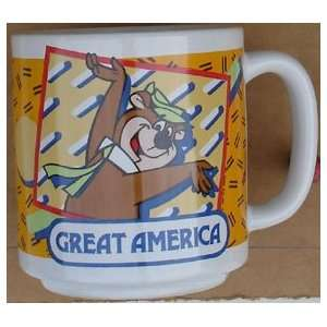 Yogi Bear Coffee Cup Great America Amusement Park Item Came Un Boxed