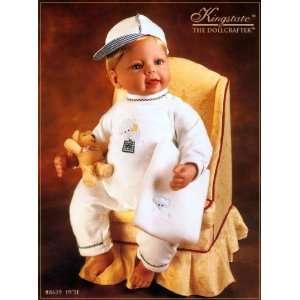 Edition Sweet Cutie 19 Vinyl baby doll, boy, blond hair and blue eyes