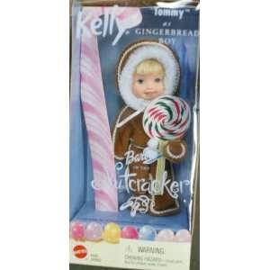 Kelly Nutcracker Christmas Tommy as Gingerbread boy doll Toys & Games