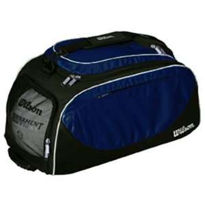 Wilson Volleyball Player Travel Bag/Backpacks BLACK/NAVY 23 L X 10.5 W