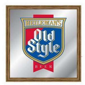 : Officially Licensed Old Style Beer Bar Mirror Sign: Home & Kitchen