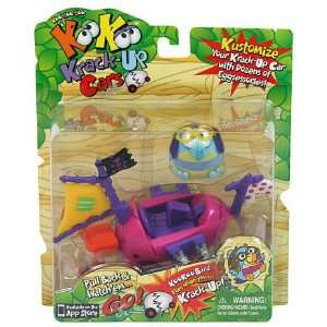 KooKoo Birds KrackUp Car Pirate Ship: Toys & Games