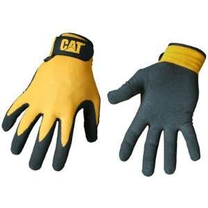 Cat Gloves Rainwear Boss Mfg CAT017416M Medium Yellow Foam