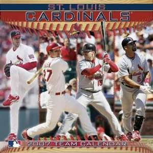 St Louis Cardinals 2007 Wall Calendar