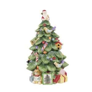 Spode Christmas Tree Sculpted Christmas Tree Shaped