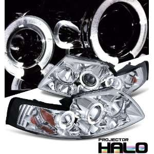 Ford Mustang Chrome W/Halo Headlight Projector Performance Automotive