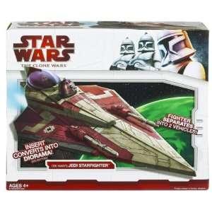 Star Wars Clone Wars Obi Wans Jedi Starfighter Toys & Games