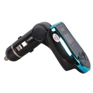 Pyle Sd/Usb Flash Memory  Player Fm Transmitter Aqua