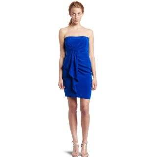 : Laundry By Shelli Segal Womens Jersey One Shoulder Dress: Clothing