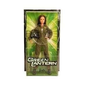 Barbie Collector Green Lantern Carol Ferris Barbie Doll Toys & Games