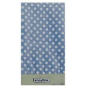Baby Star Blue Green Confetti Diaper Burp Baby