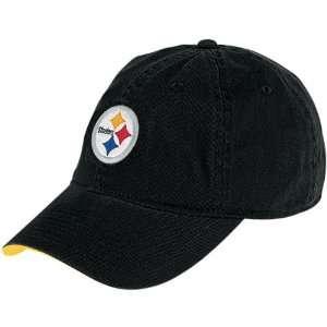 Reebok Pittsburgh Steelers Basic Logo Adjustable Slouch Hat Adjustable